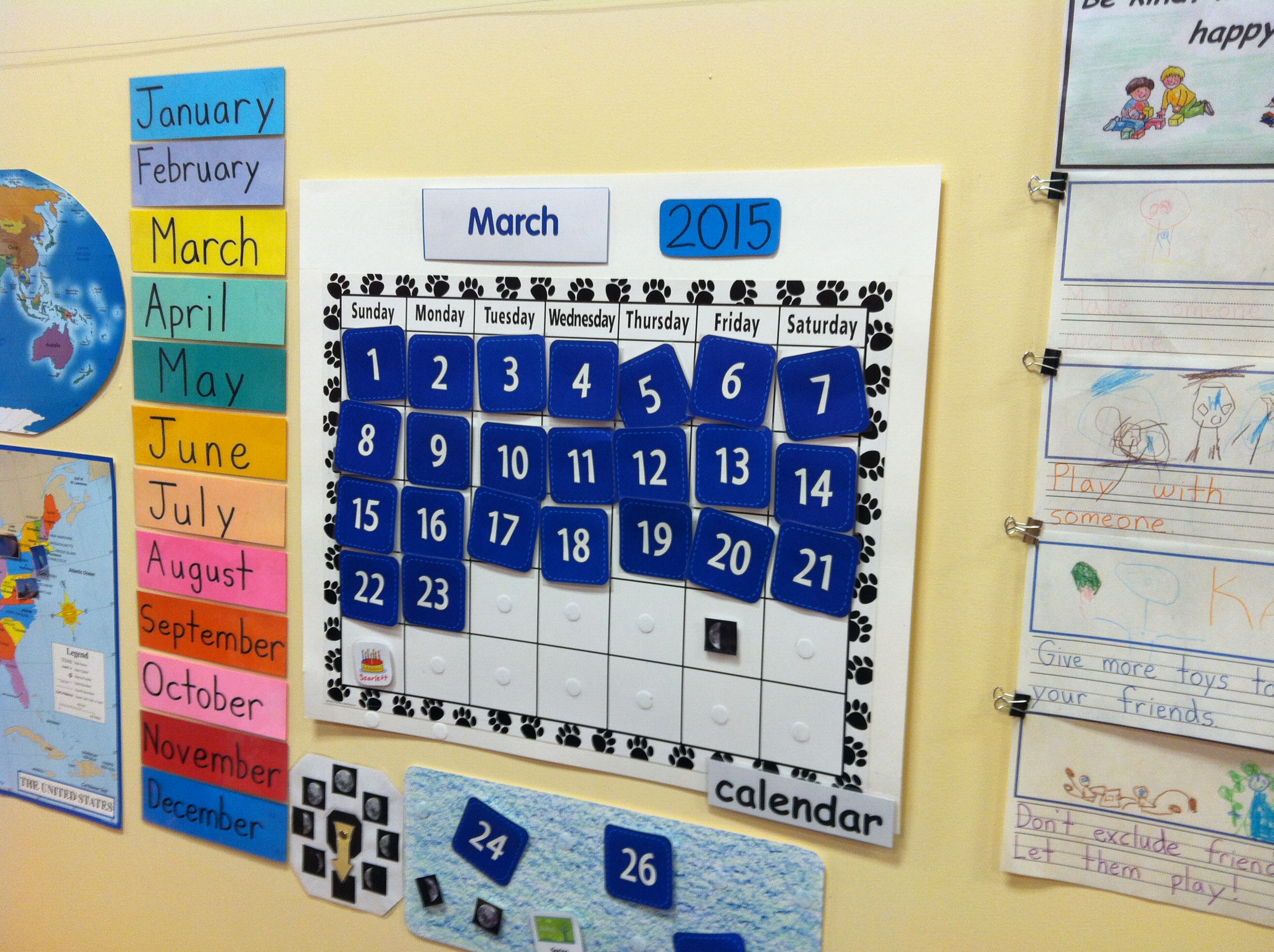 Calendar For Kids In Classroom : Math archives joe robinson